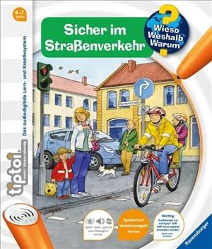 Ravensburger 00580 - tiptoi: Wieso? Weshalb? Warum? Sicher im Straßenverkehr (ohne Stift)   Cover