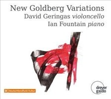 Bach: New Goldberg Variations - compiled by David Geringas