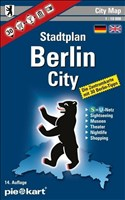 Berlin City 1 : 10.000 Stadtplan