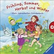 Frühling, Sommer, Herbst und Winter: Mein Jahreszeiten-Schiebebuch