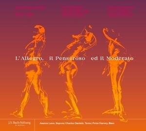L'Allegro, il Penseroso ed il Moderato   Cover