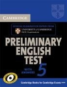 Cambridge Preliminary English Test 5 Student's Book with answers (Pet Practice Tests)