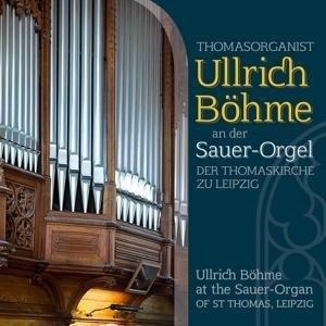 Ullrich Böhme an der Sauer-Orgel | Cover