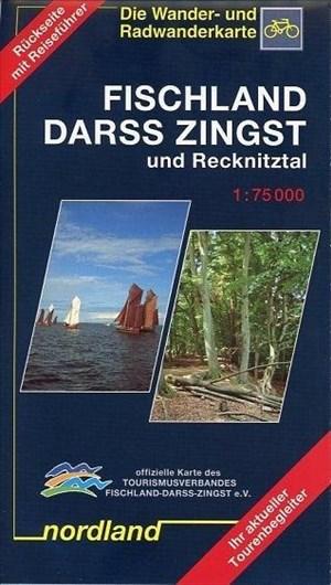 Nordland Karten, Fischland, Darss, Zingst und Recknitztal (Deutsche Ostseeküste) | Cover