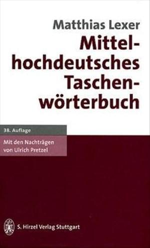 Mittelhochdeutsches Taschenwörterbuch | Cover