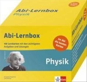 Abi-Lernbox Physik: 100 Lernkarten mit den wichtigsten Aufgaben fürs Abitur: 100 Lernkarten mit den wichtigsten Aufgaben und Lösungen   Cover