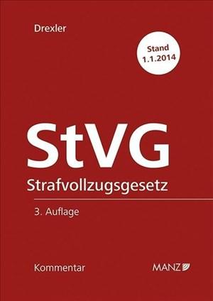 StVG Strafvollzugsgesetz (Manz Grosskommentare) | Cover