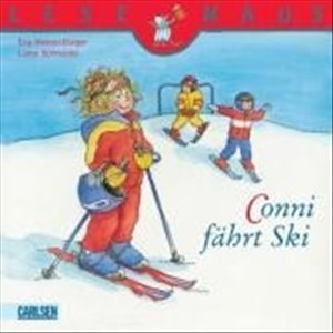 LESEMAUS 22: Conni fährt Ski   Cover