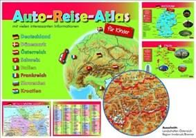 Auto-Reise-Atlas für Kinder
