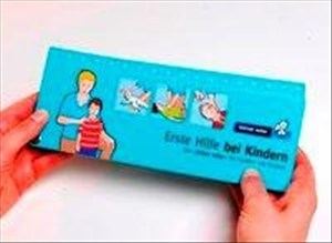"""Erste Hilfe bei Kindern: Der """"kleine retter"""" für Familien mit Kindern   Cover"""