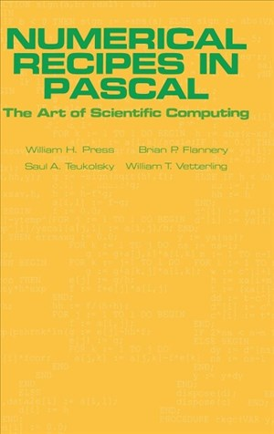 Numerical Recipes in Pascal (First Edition): The Art of Scientific Computing | Cover