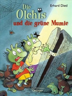Die Olchis und die grüne Mumie | Cover