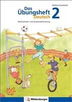 Das Übungsheft Deutsch 2: Rechtschreib- und Grammatiktraining, 2. Schuljahr