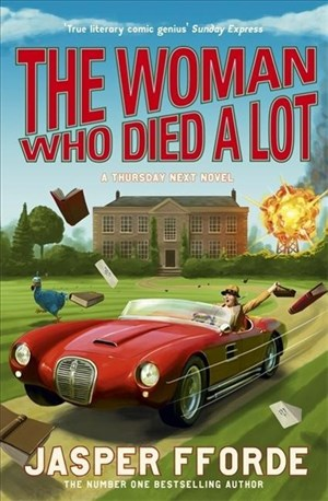 The Woman Who Died a Lot: Thursday Next Book 7   Cover