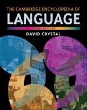 The Cambridge Encyclopedia of Language | Cover