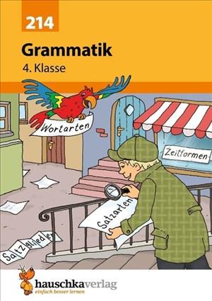 Grammatik 4. Klasse, A5- Heft | Cover