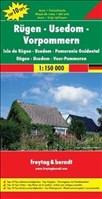 Freytag Berndt Autokarten, Rügen - Usedom - Vorpommern 1:150.000 (freytag & berndt Auto + Freizeitkarten)
