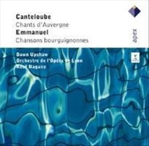 Chants D'auvergne/Chansons Bourguignonnes   Cover