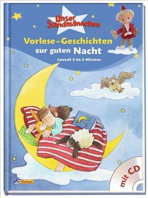 Unser Sandmännchen: Vorlese-Geschichten zur guten Nacht: Mit Hör-CD | Cover