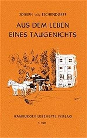 Hamburger Lesehefte, Nr.5, Aus dem Leben eines Taugenichts | Cover