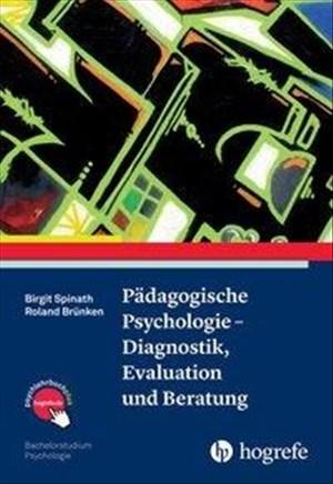 Pädagogische Psychologie – Diagnostik, Evaluation und Beratung (Bachelorstudium Psychologie) | Cover