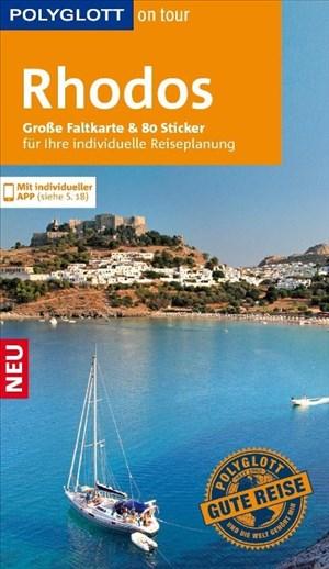 POLYGLOTT on tour Reiseführer Rhodos: Mit großer Faltkarte, 80 Stickern und individueller App | Cover