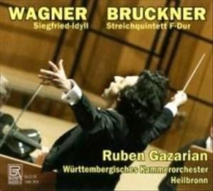 Wagner: Siegried-Idyll/Streichquintett F-Dur | Cover