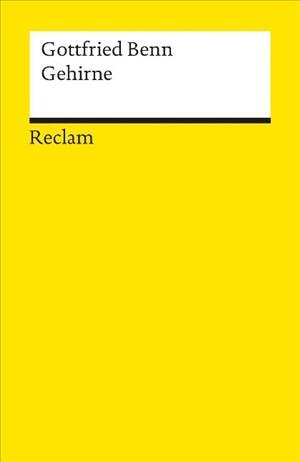 Gehirne: Novellen | Cover