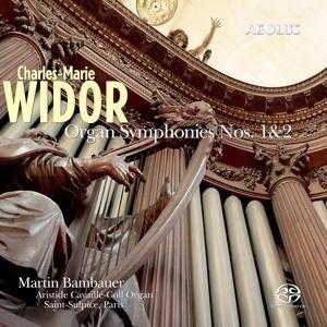 Widor: Orgelsinfonien 1 & 2   Cover