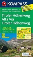 Tiroler Höhenweg - Alta Via Tiroler Höhenweg: Wanderkarte mit Aktiv Guide. GPS-genau. 1:50000 (KOMPASS-Wanderkarten, Band 132)