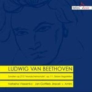 Beethoven: Mondscheinsonate, 7 Bagatellen, Sonate op.111 | Cover