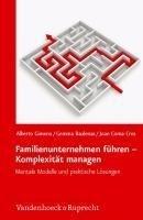 Familienunternehmen führen - Komplexität managen: Neue Denkmodelle und praktische Lösungen