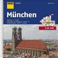 ADAC Cityatlas München 1:15 000 (ADAC CityAtlanten 1:15.000)
