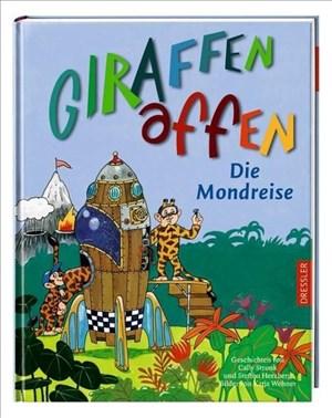 Giraffenaffen - Die Mondreise | Cover