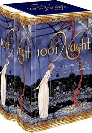 1001 Nacht - Tausendundeine Nacht: vollständige Ausgabe mit über 700 Illustrationen | Cover