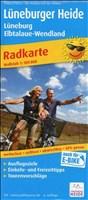 Lüneburger Heide - Lüneburg - Elbtalaue-Wendland: Radwanderkarte mit Ausflugszielen, Einkehr- & Freizeittipps, reissfest, wetterfest, abwischbar, GPS-genau. 1:100000 (Radkarte/RK)