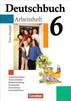 Deutschbuch Gymnasium 6. Schuljahr - Arbeitsheft mit Lösungen | Cover