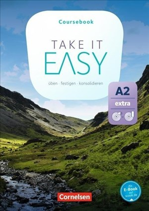 Take it Easy: A2 Extra - Kursbuch mit Video-DVD und Audio-CD   Cover