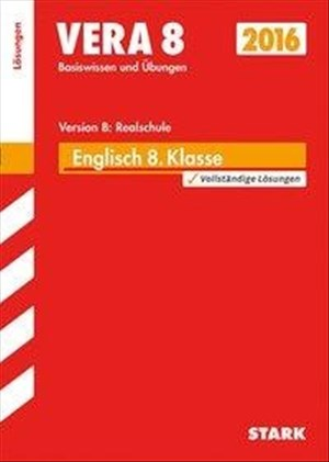 STARK VERA 8 Realschule - Englisch Lösungen | Cover