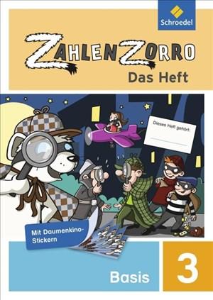 Zahlenzorro - Das Heft: Basisheft 3 | Cover