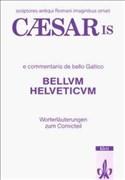 Caesaris e Commentariis De Bello Gallico, Bellum Helveticum, Vocabularium lateinisch-deutsch (Lateinische Literatur-Comics)
