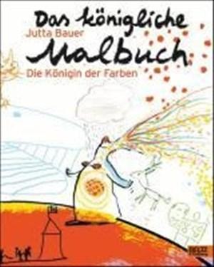 Das königliche Malbuch: Die Königin der Farben | Cover