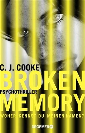 Broken Memory: Psychothriller   Cover