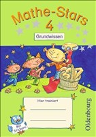 Mathe-Stars - Grundwissen: 4. Schuljahr - Übungsheft: Mit Lösungen