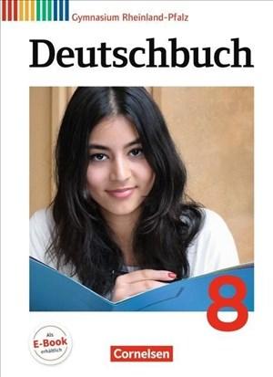 Deutschbuch Gymnasium - Rheinland-Pfalz: 8. Schuljahr - Schülerbuch | Cover