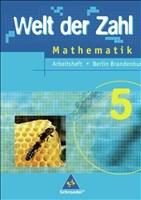 Welt der Zahl - Ausgabe 2005 für das 5. und 6. Schuljahr in Berlin und Brandenburg: Arbeitsheft 5