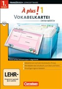 À Plus! Interaktiv - Vokabelkartei interaktiv: Band 1 - CD-ROM (À plus ! / Ausgabe 2004)
