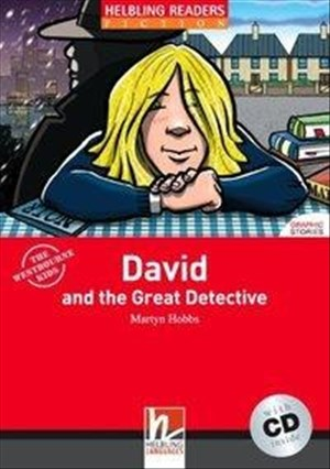 Helbling Readers Fiction: David and the Great Detective - Level 1 (inkl. 1 CD) | Cover