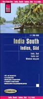 Reise Know-How Landkarte Indien, Süd (1:1.200.000): world mapping project
