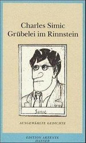 Grübelei im Rinnstein: Ausgewählte Gedichte   Cover